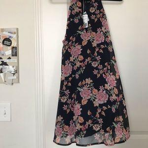 Forever 21 - Navy Floral Shift Dress